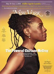 Chirlane McCray, First Lady for New York City and New York magazine cover story (www.nydailynews.com).