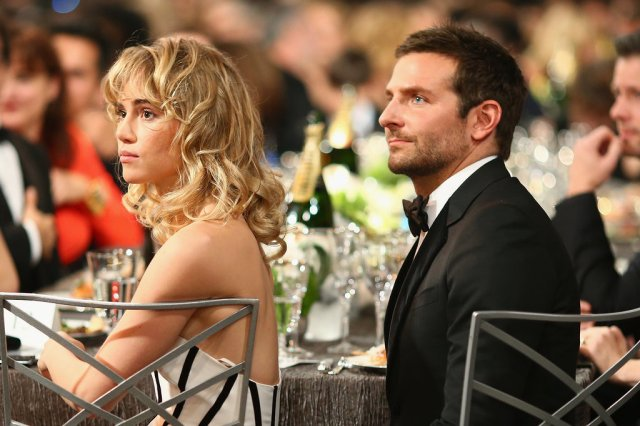 Bradley Cooper and Suki Waterhouse out for the evening . . . does she have a curfew (popsugar.com)?