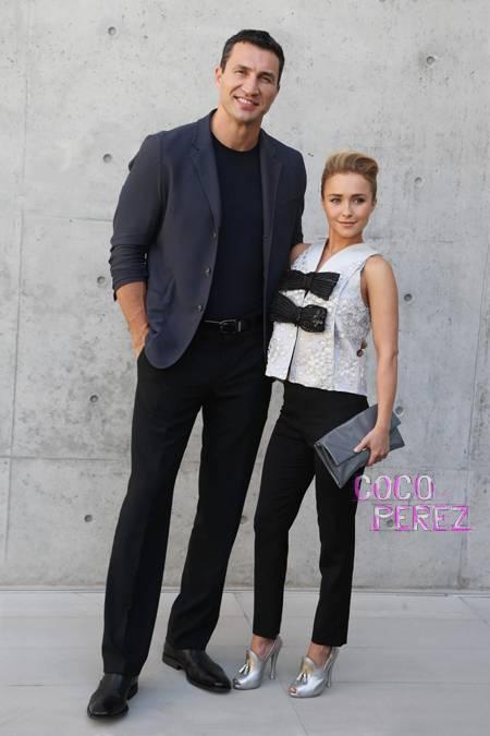 Hayden Panettiere and Wladimir Klitschko visit Milan (www.perezhilton.com).