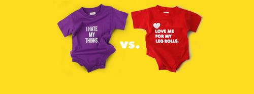 The onesies at the center of the debate - wry or just not humorous (yahoo.com)?