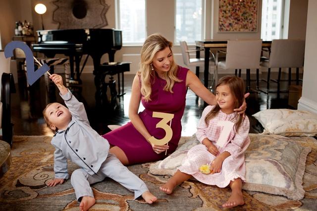 Ivanka Trump announces  Baby #3 (ivankatrump.com).