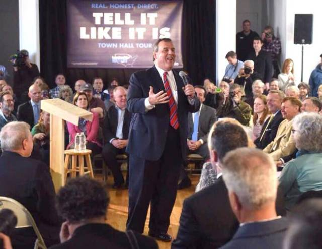 Christie works his magic during a town hall (north jersey.com).