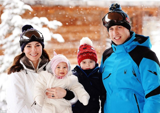 Wills enjoys some quality time with his family (dailymail.co.uk).