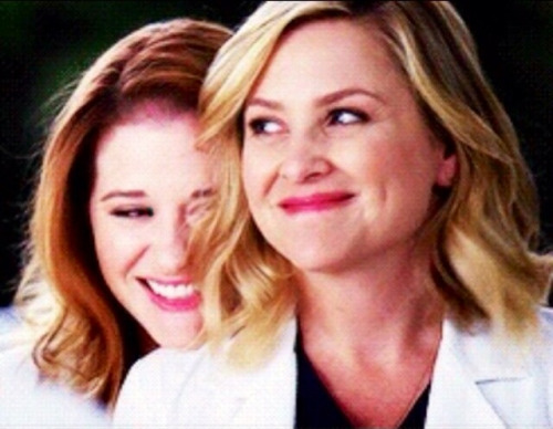 April and Arizona, two good friends, neither of whom is so good at confidentiality -- with mixed results (tumblr.com).