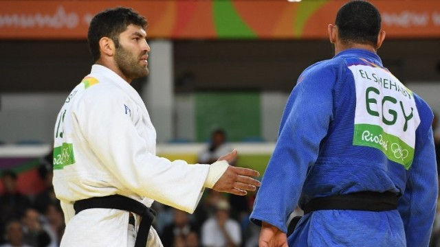 When your opponent refuses to shake your hand after losing a match . . . because you're Israeli (timesofisrael.com).
