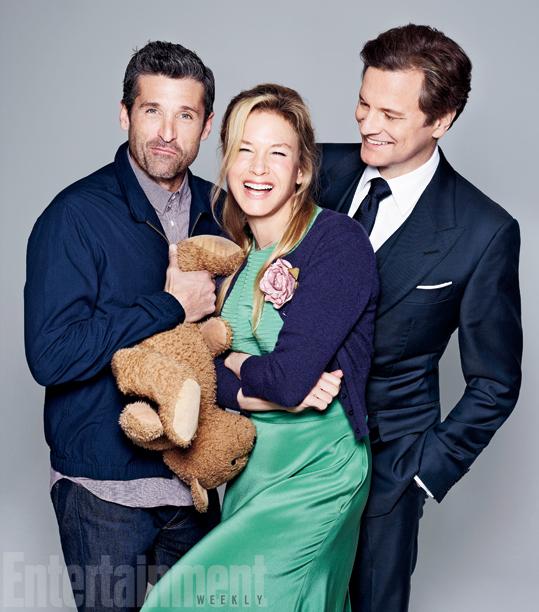 Bridget and her men.