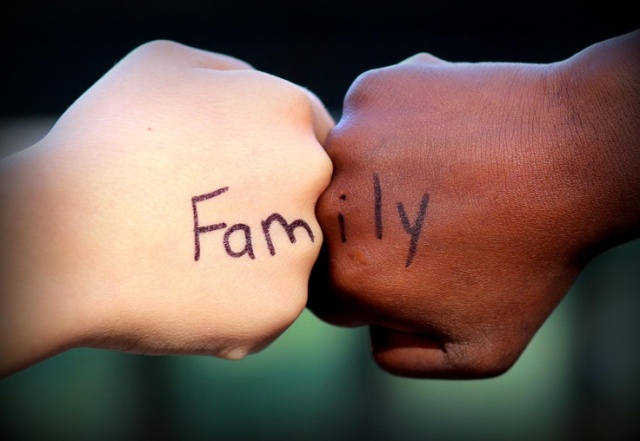 We are family (www.centerforadoptionservices.org).