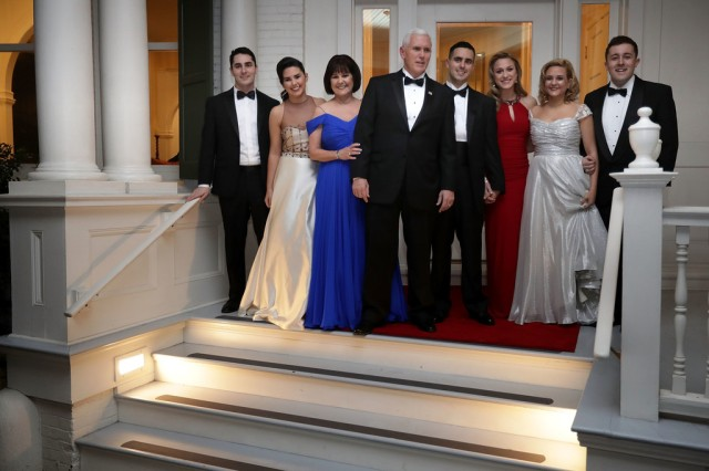 Pence-Family-at-2017-Inaugural