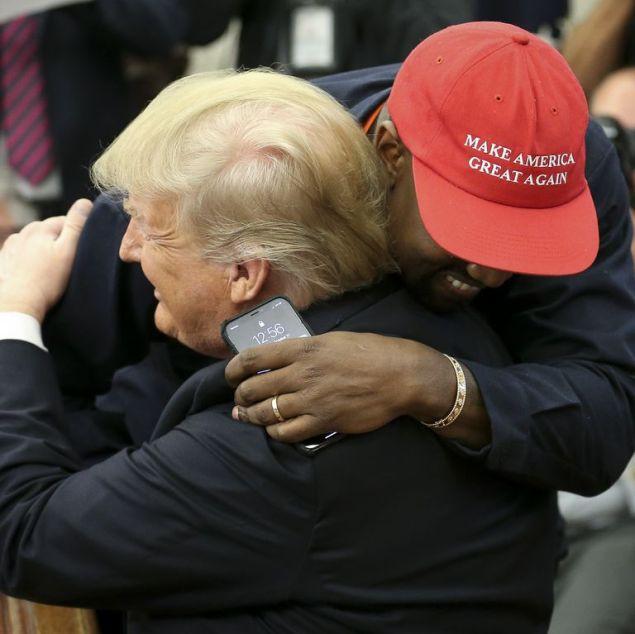 Kanye-Hugs-Trump